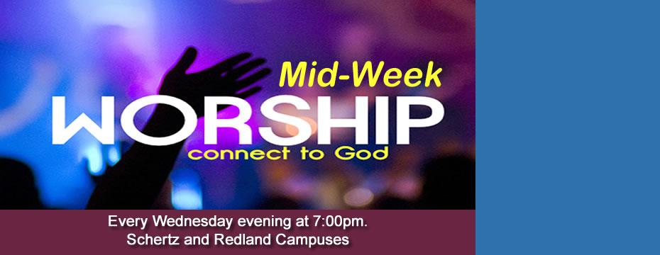 Mid Week Worship